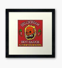Hellscream Hot Sauce Framed Print