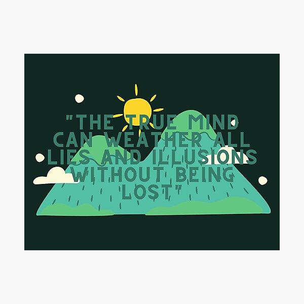 True Mind // Avatar The Last Airbender Photographic Print