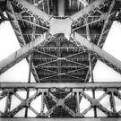 Toledo Bridge by Michael  Herrfurth