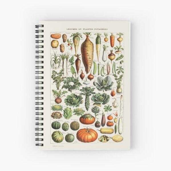 Adolphe Millot - Légumes pour tous Spiral Notebook
