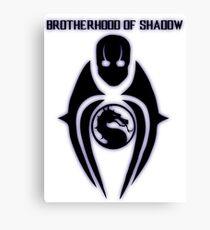 Mortal Kombat X - Brotherhood of Shadow Canvas Print