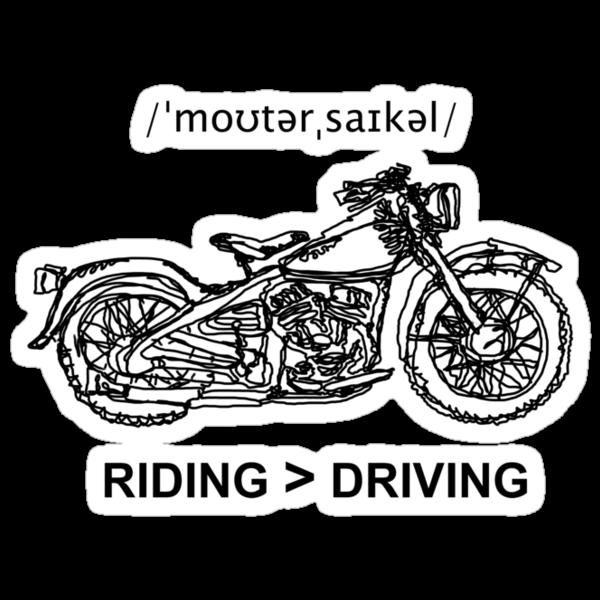 Motorcycle Cruiser Style Illustration by strayfoto