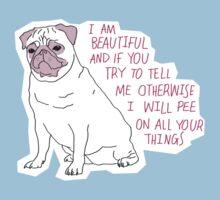 Sassy Pug | Unisex T-Shirt