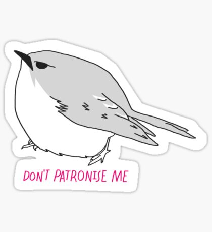 Sassy Bird Sticker