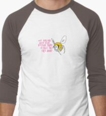 Sassy Bee Men's Baseball ¾ T-Shirt