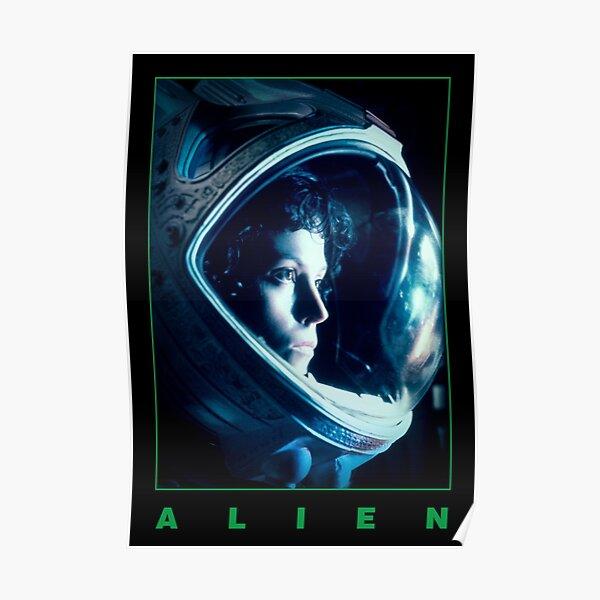Ripley - Alien 1979 - Minimalist Black Print Poster