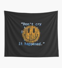 Be fond of your memories Wall Tapestry