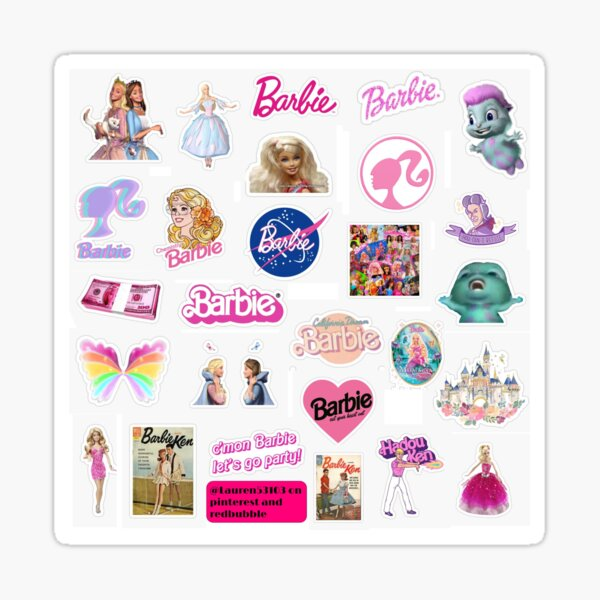 Barbie Sticker Pack Sticker