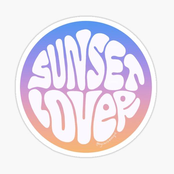 Sunset Lover Sticker