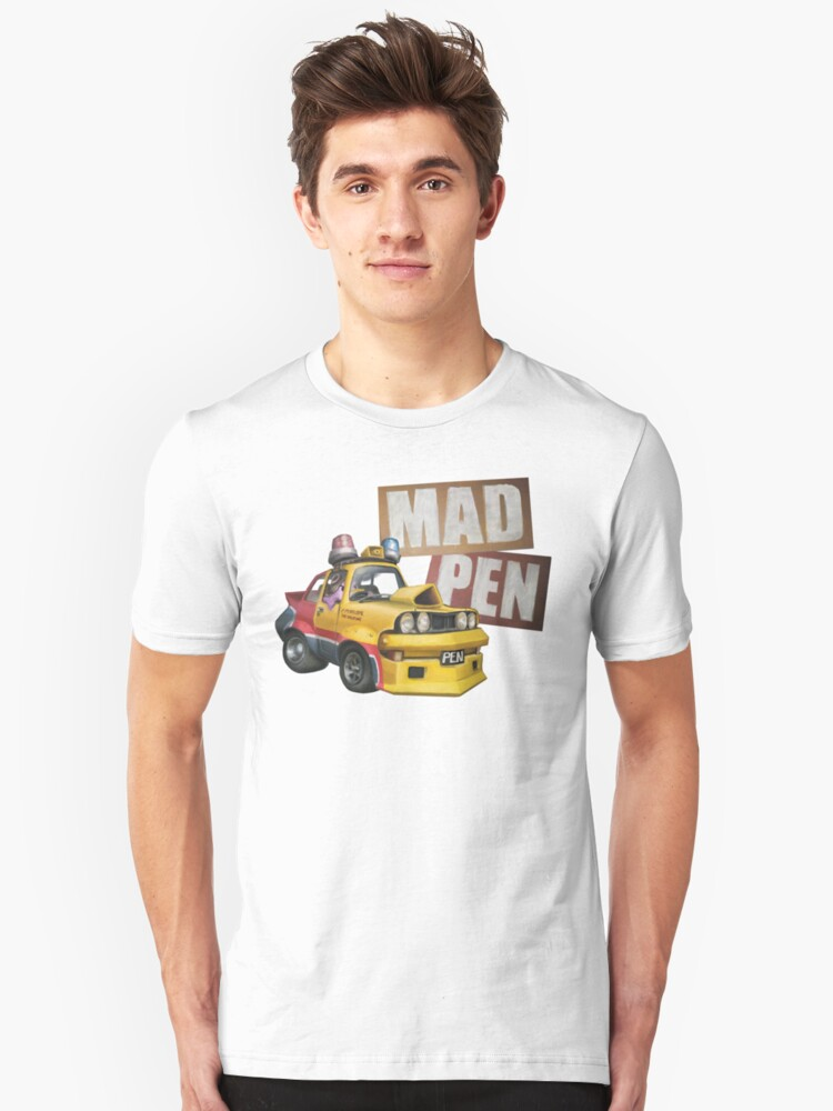 Mad Pen - The Road Warrior Unisex T-Shirt Front
