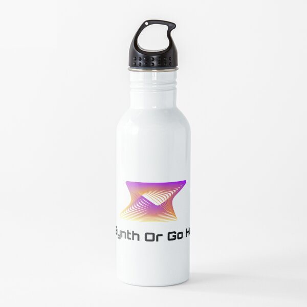 Go Synth or Go Home Water Bottle