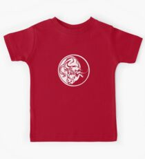 Bull Emblem In White Kids Clothes