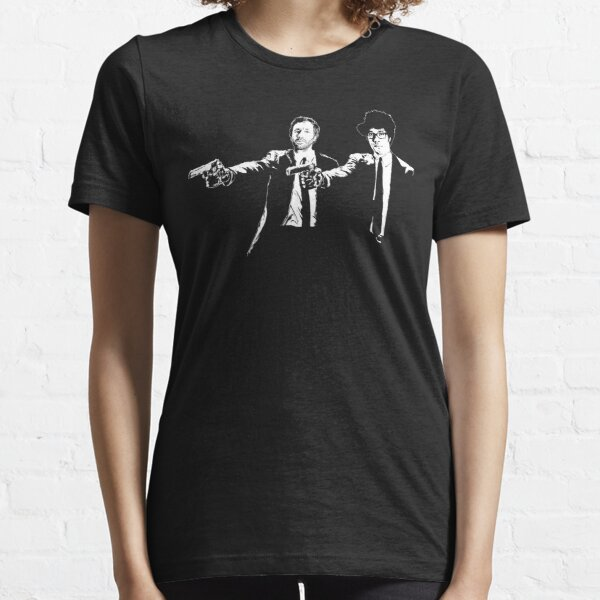 IT Crowd Roy And Moss Pulp Fiction Essential T-Shirt