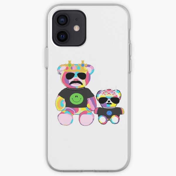 Rainbow Bear with shirts iPhone Soft Case