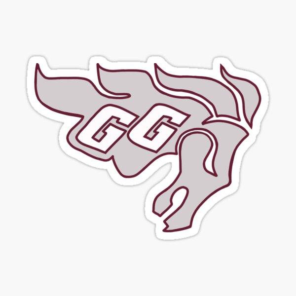 University of Ottawa Gee Gees Logo Sticker