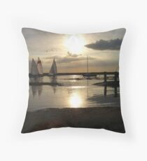Blakeney Quay Throw Pillow