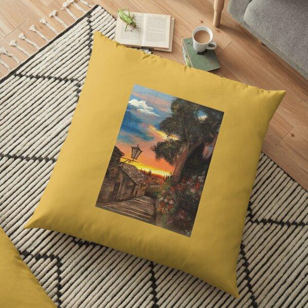 Tuscan Hills Floor Pillow