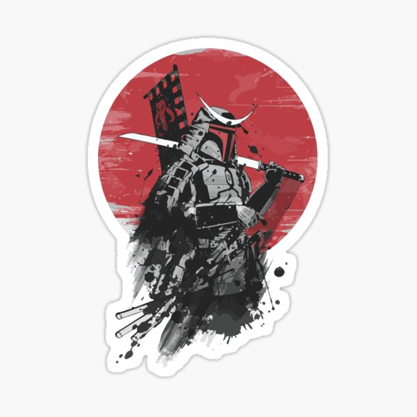 GHOST OF TSUSHIMA POSE Sticker