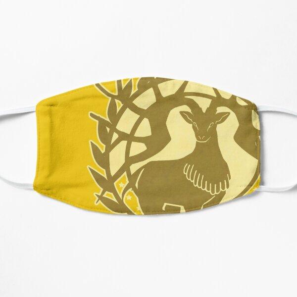 Golden Deer Flat Mask