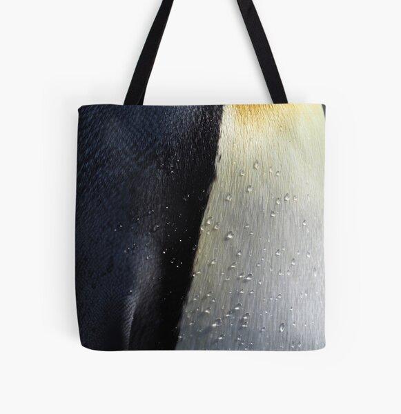 I Love Penguin Plumage All Over Print Tote Bag