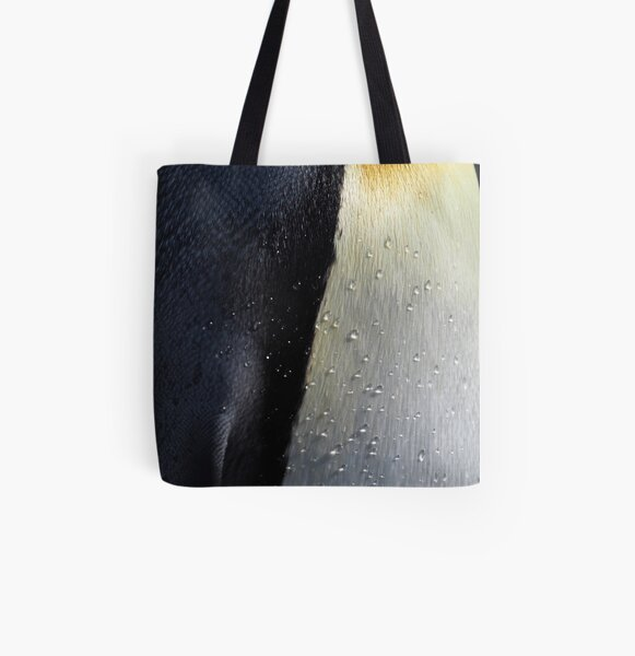 I Love Penguin Plumage All Over Print Tote Bag