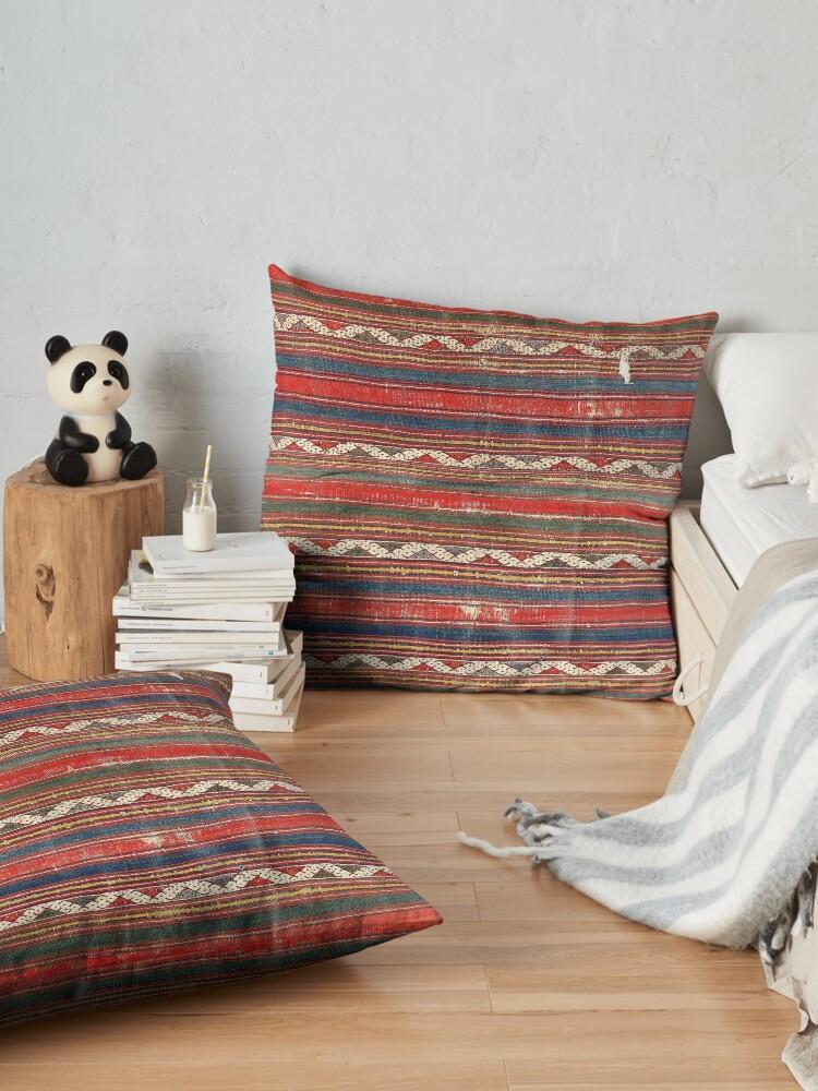 Alternate view of Denizli West Anatolian Kilim Print Floor Pillow