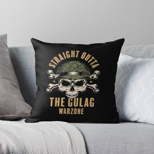Gulag Warzone Throw Pillow