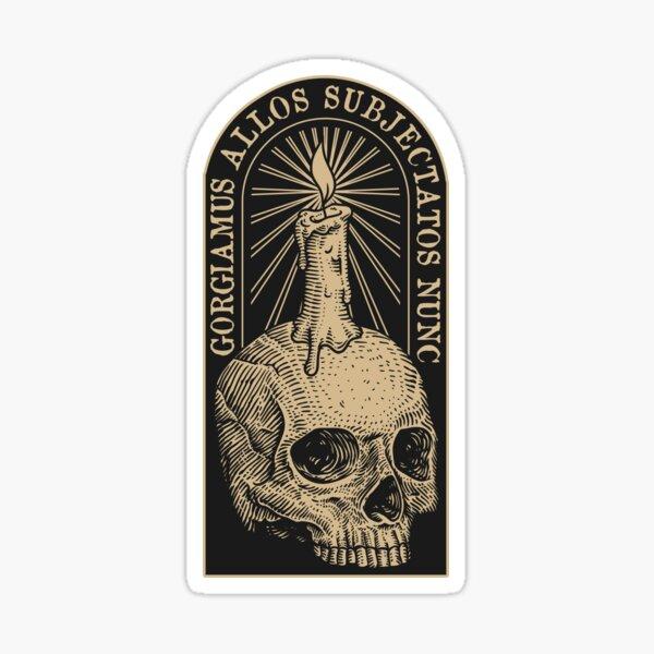 Addams Motto Sticker