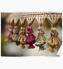 Lamp Shade and Dancing Tassels Poster