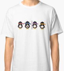 Pingouins ninjas Classic T-Shirt
