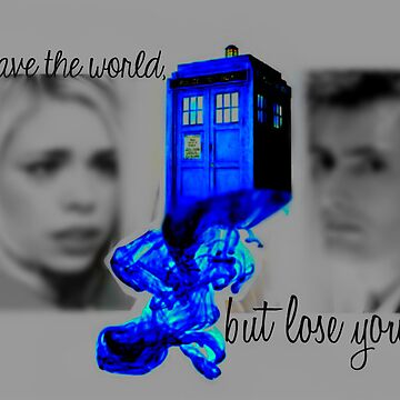 Rose and The Doctor on Doomsday by angelbobwhovian