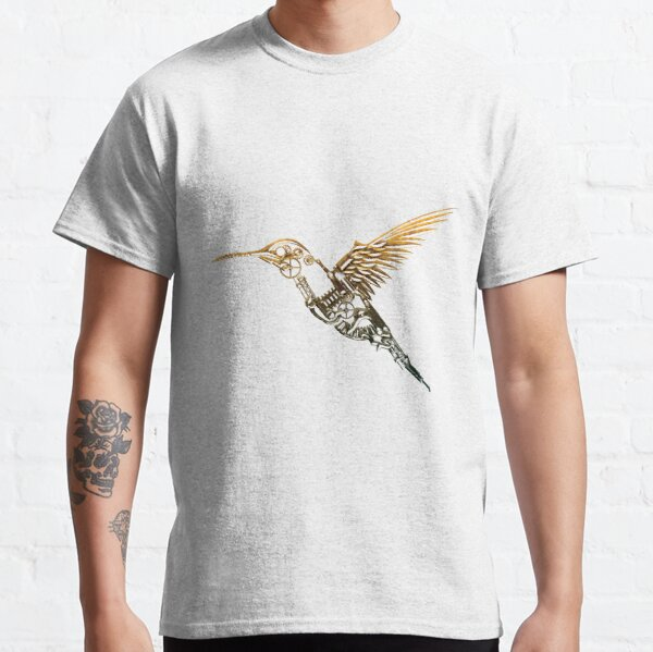 Steampunk Humming Bird Classic T-Shirt
