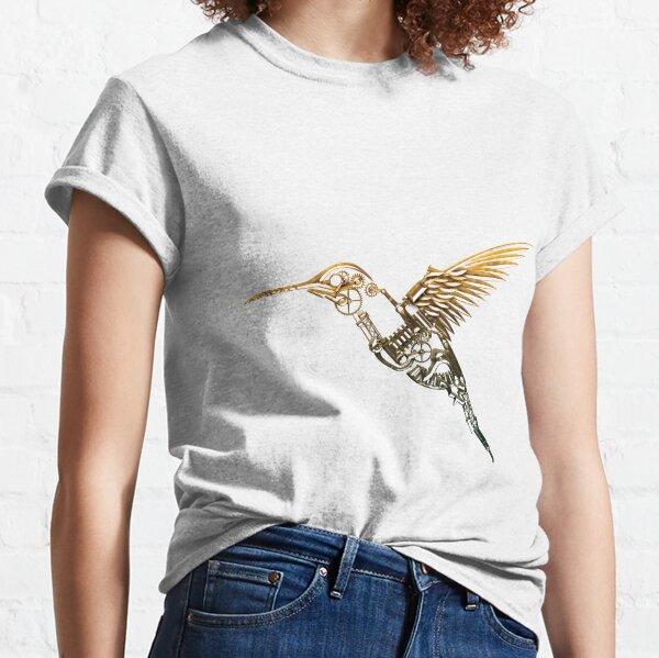 Steampunk Humming Bird Classic T-Shirt