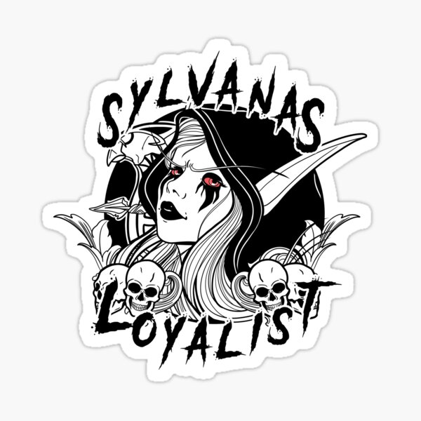 Banshee-Loyalist Sticker