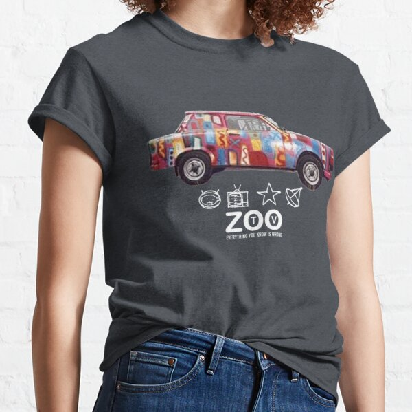 Achtung Baby Zoo TV  by ABEL2017 Classic T-Shirt