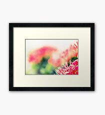 I painted by Lens...Got Featured Work:) Framed Print