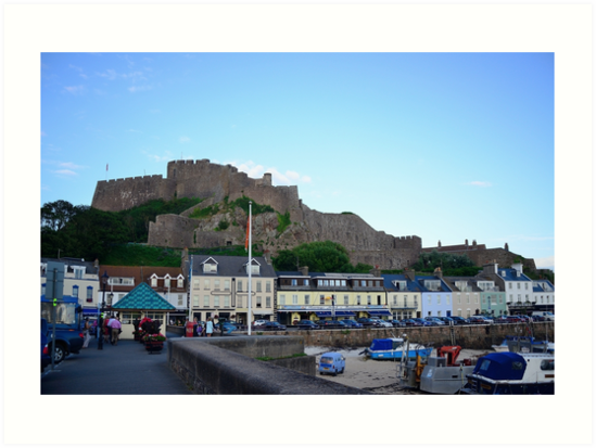 Gorey Castle, Jersey by dtfrancis15