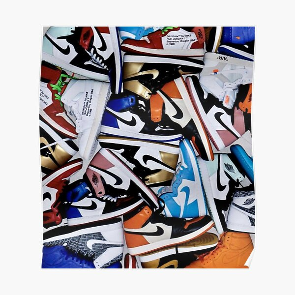 All Sneakers Poster