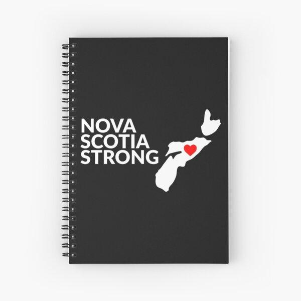 Nouvelle-Écosse Strong # 2 Cahier à spirale