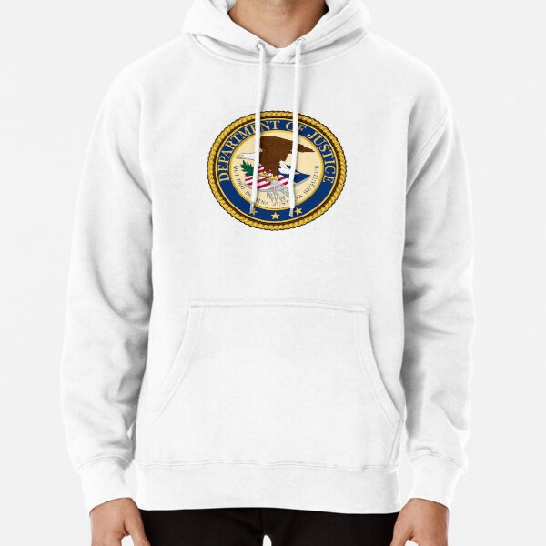 United States Department of Justice (DOJ) Pullover Hoodie