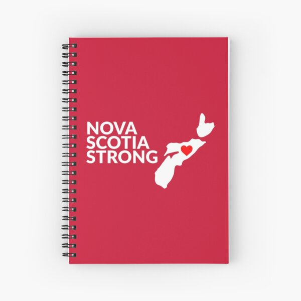 Nouvelle-Écosse Strong # 3 Cahier à spirale