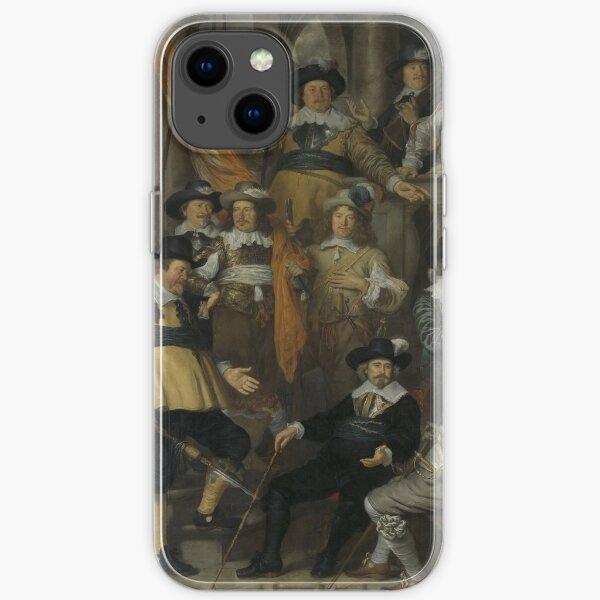 Govert Flinck - Officers  iPhone Soft Case