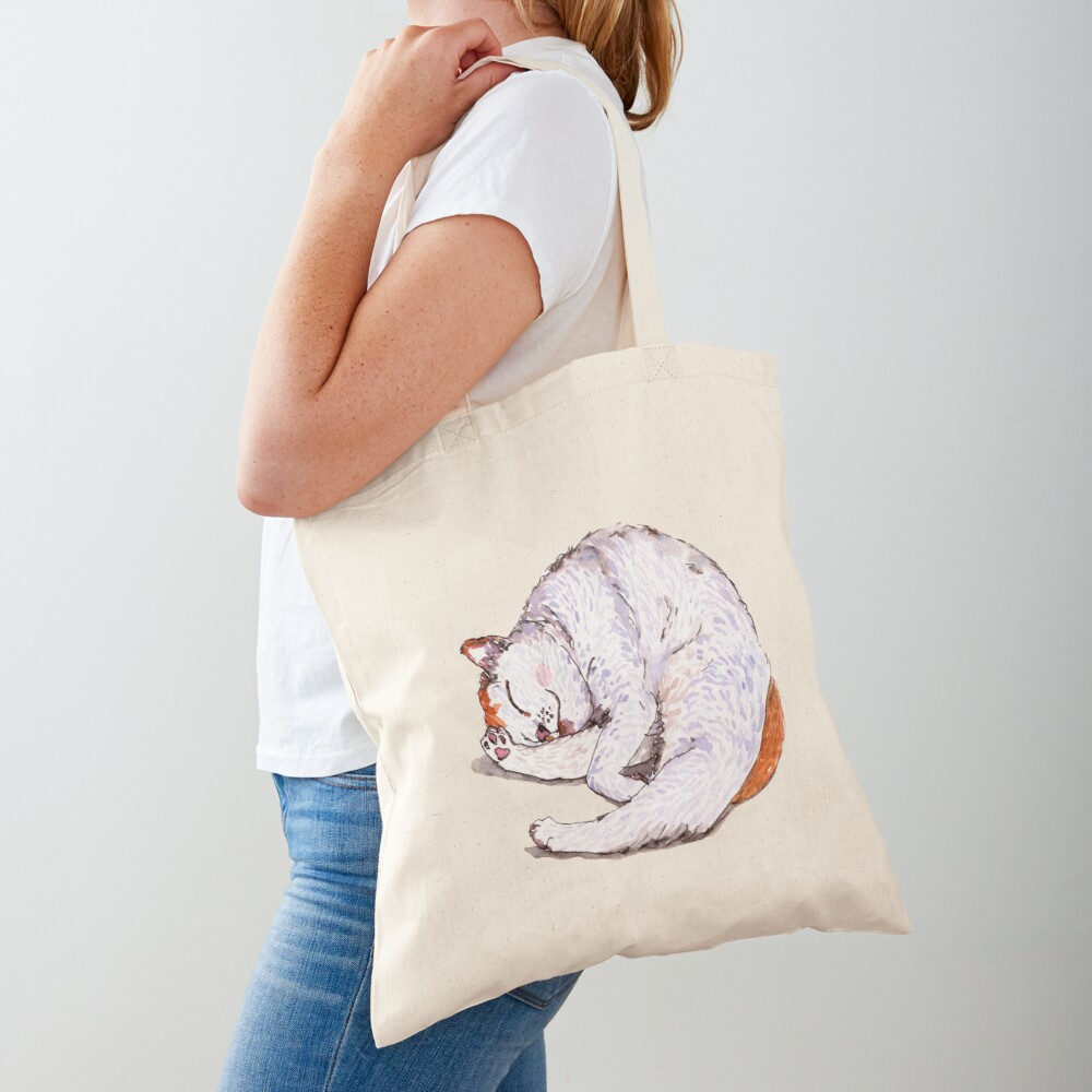 Tommy the Furball is Sleeping Tote Bag