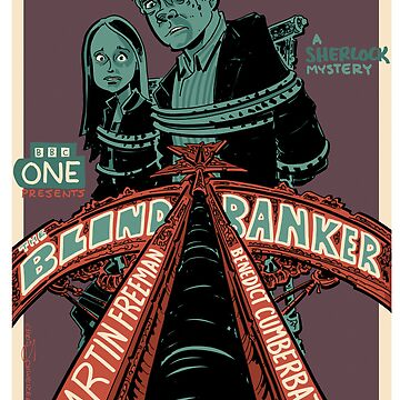 Vintage Poster - The Blind Banker by schweizercomics