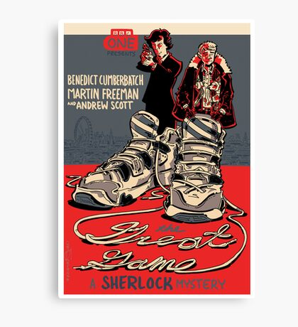 Vintage Poster - The Great Game Canvas Print