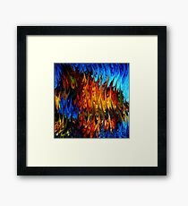 modern composition 18 by rafi talby Framed Print