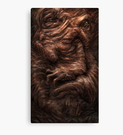 Face of the Beast Canvas Print