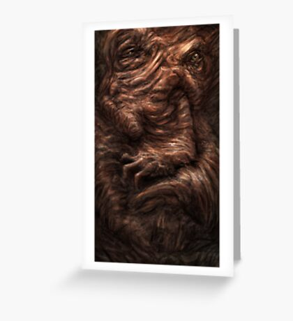 Face of the Beast Greeting Card