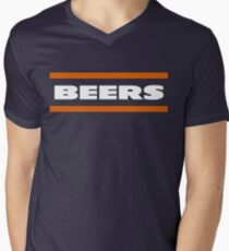 Da Beers Men's V-Neck T-Shirt
