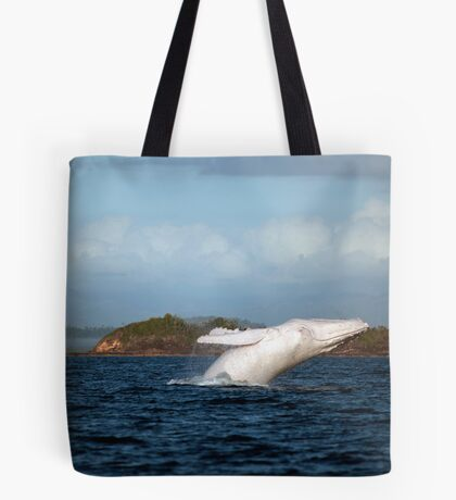 Migaloo in action... Tote Bag